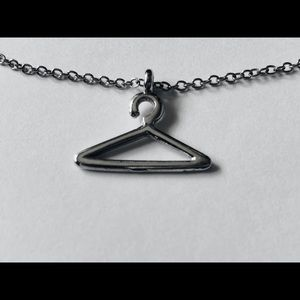 Forever 21 Silver Hanger Charm Necklace